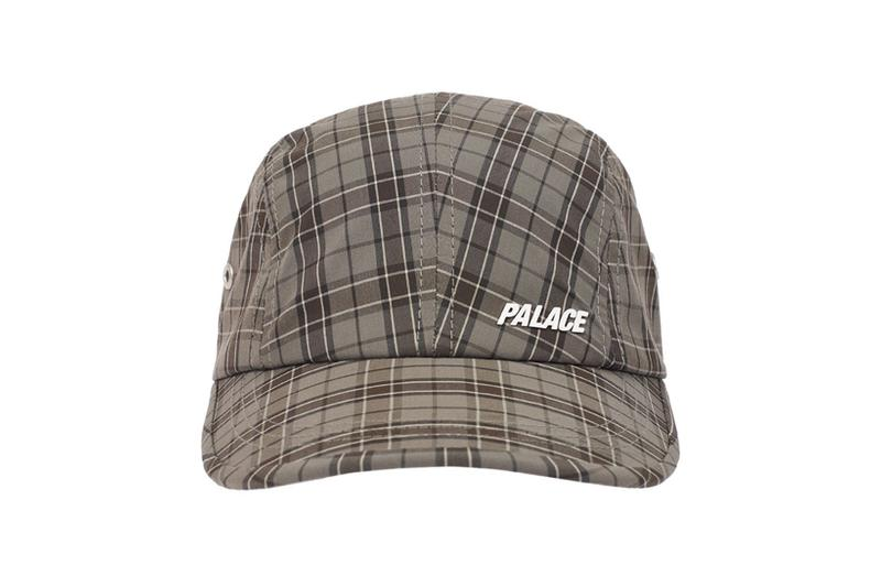 palace spring drop 4 collection logo cap hat graphic plaid check