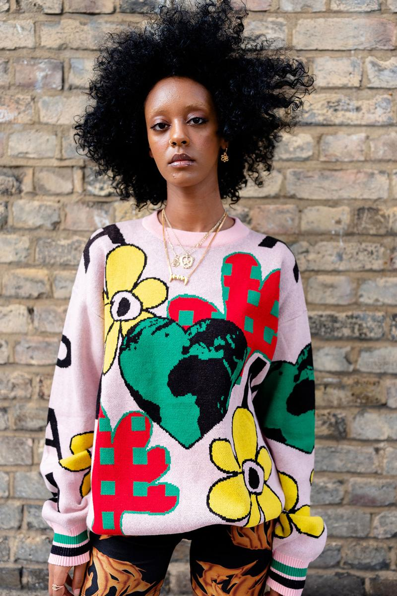 pam perks and mini nuage spring summer collection lookbook sweater
