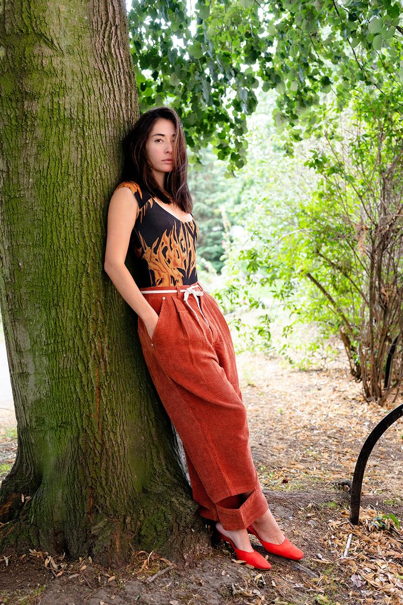 pam perks and mini nuage spring summer collection lookbook tank top pants