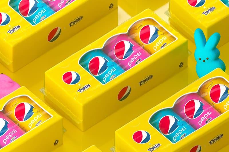PEEPS x Pepsi Marshmallow Soda Cola Flavor Easter