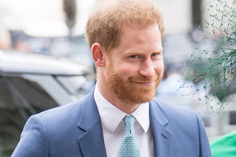 Prince Harry Westminster Abbey 2020