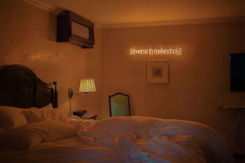 sarah bahbah home decor limited edition neon lights dreams in melancholy bedroom