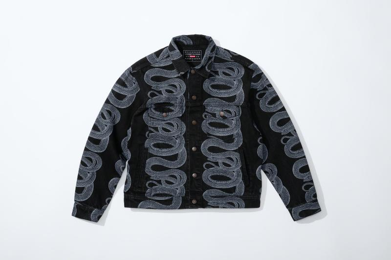 supreme hysteric glamour spring collaboration jacket