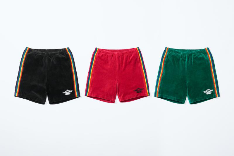 supreme hysteric glamour spring collaboration shorts