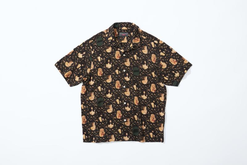 supreme hysteric glamour spring collaboration shirt