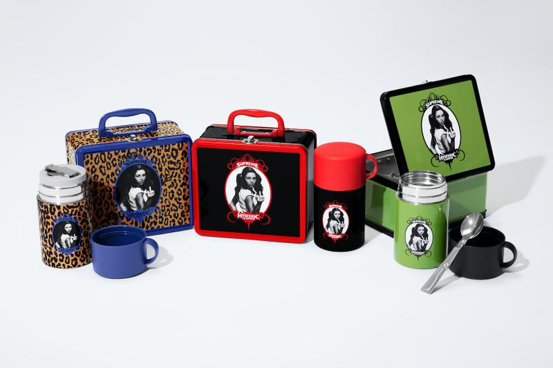 supreme hysteric glamour spring collaboration lunch box