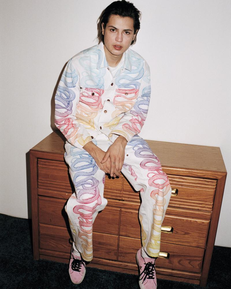 supreme hysteric glamour spring collaboration jacket pants