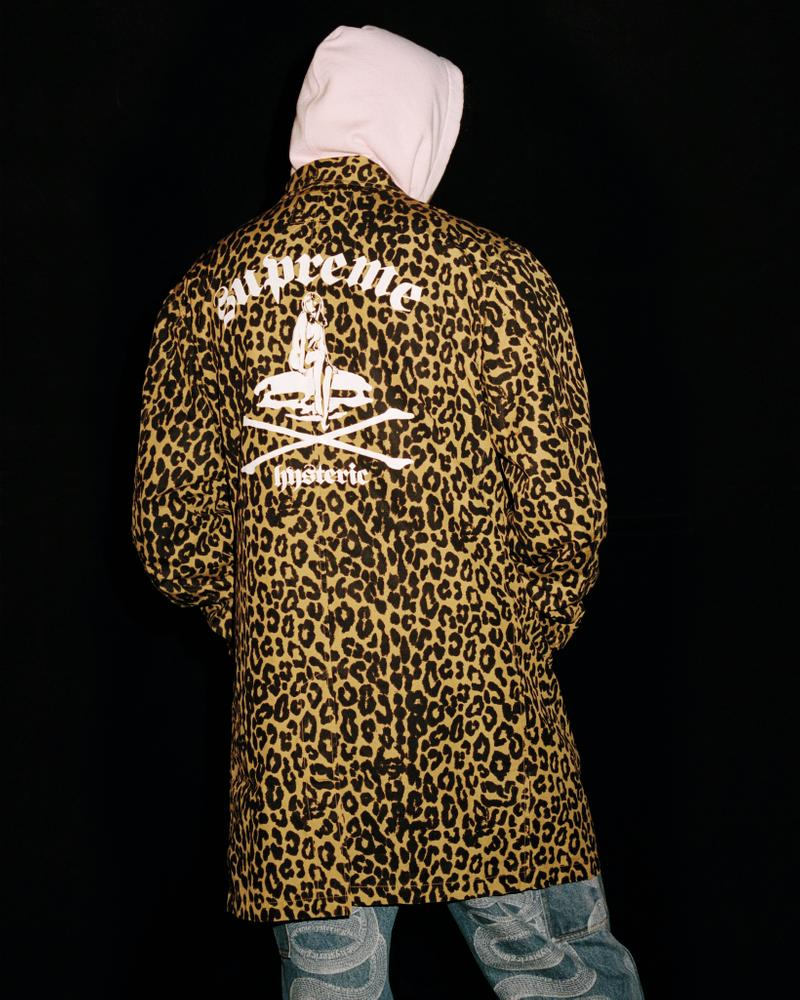 supreme hysteric glamour spring collaboration jacket hoodie