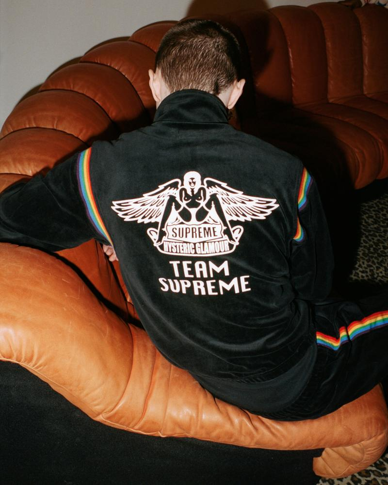 supreme hysteric glamour spring collaboration outerwear jacket