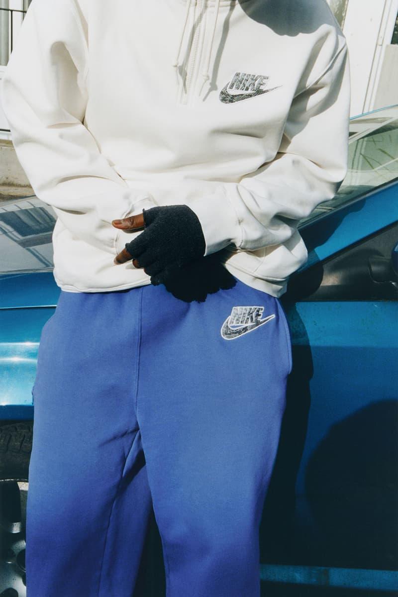 supreme nike collaboration spring drop track sweatpants logo