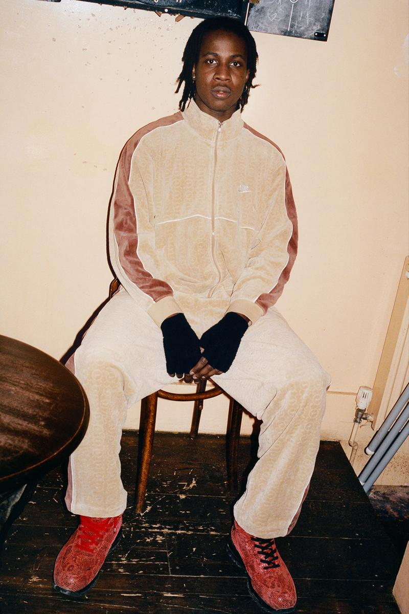 supreme nike collaboration spring drop track jacket pants sweats