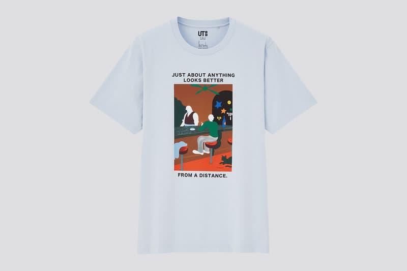 uniqlo ut haruki murakami author books collaboration t-shirt pinball 1973