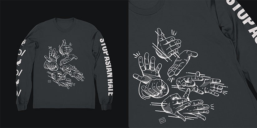 """Asian Deaf Creatives Launch """"Stop Asian Hate"""" Shirt in Support of the AAPI Community"""