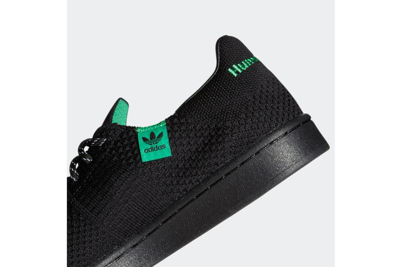 adidas Originals Pharrell Primeknit Superstar Sneaker Black White Release Capsule Collection