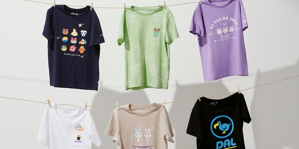 UNIQLO UT's 'Animal Crossing' Collection Features All Your Favorite Characters