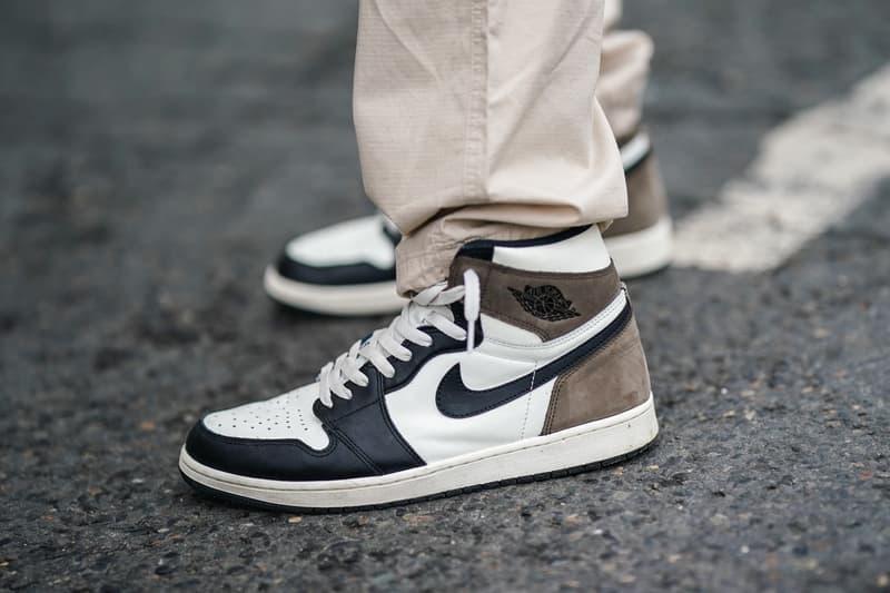 Nike Air Jordan Sneakers Paris Fashion Week Street Style