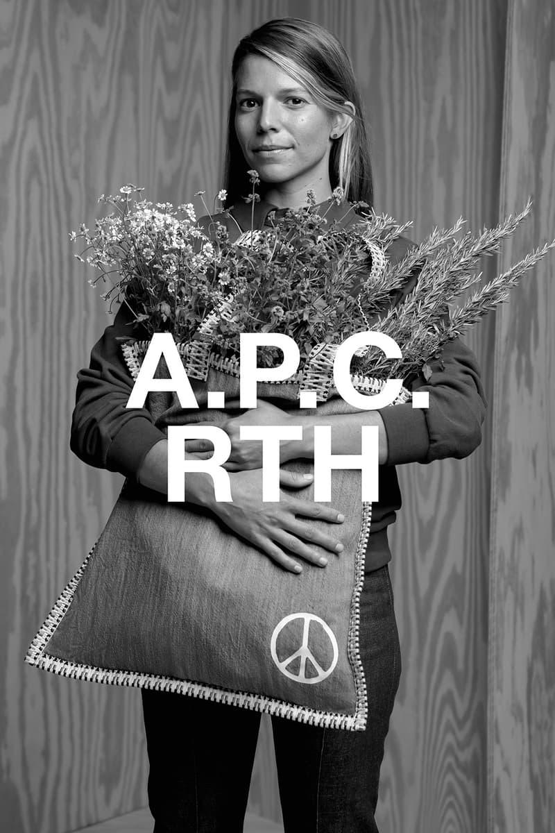 apc rth collaboration campaign tote bag plants