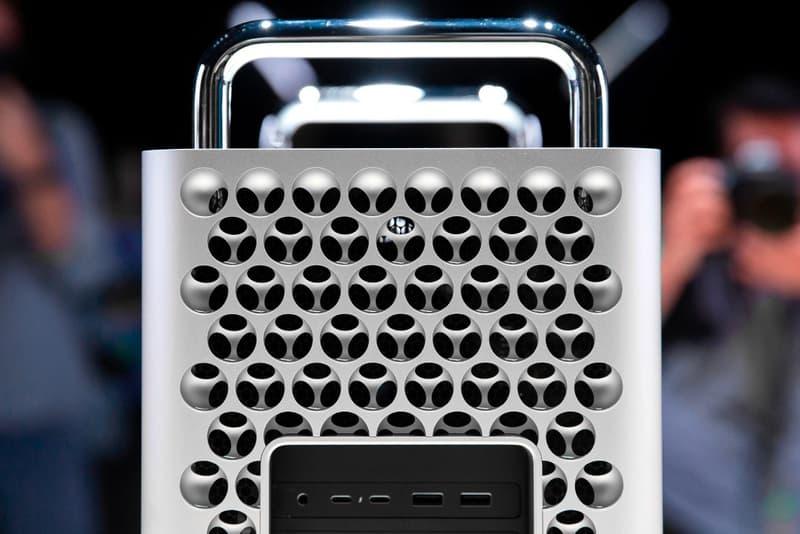 Apple Mac Pro 2019 Cheese Grater Hole Lattice Design