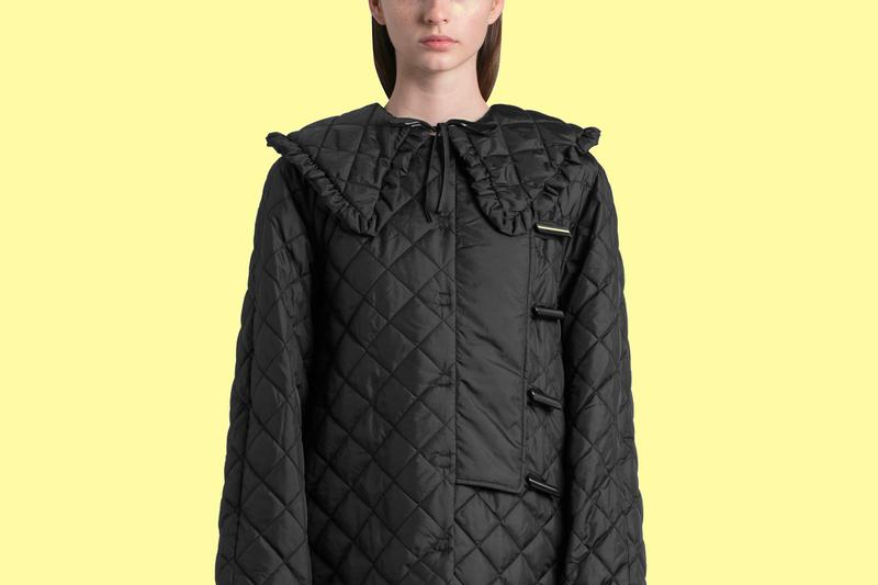 Over-sized Collar Trend GANNI Nanushka Bottega Veneta Shop Best Fashion