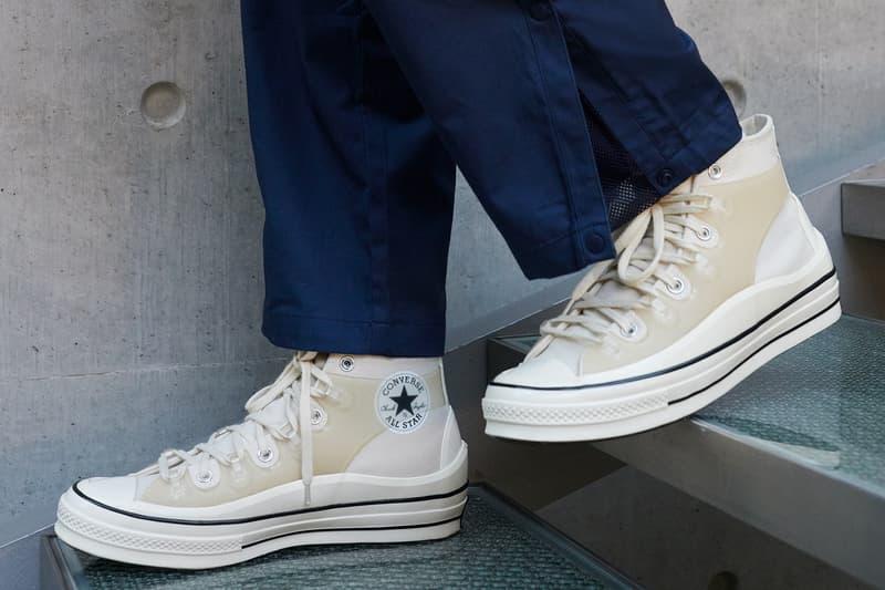converse kim jones chuck 70 sneakers collaboration cream white