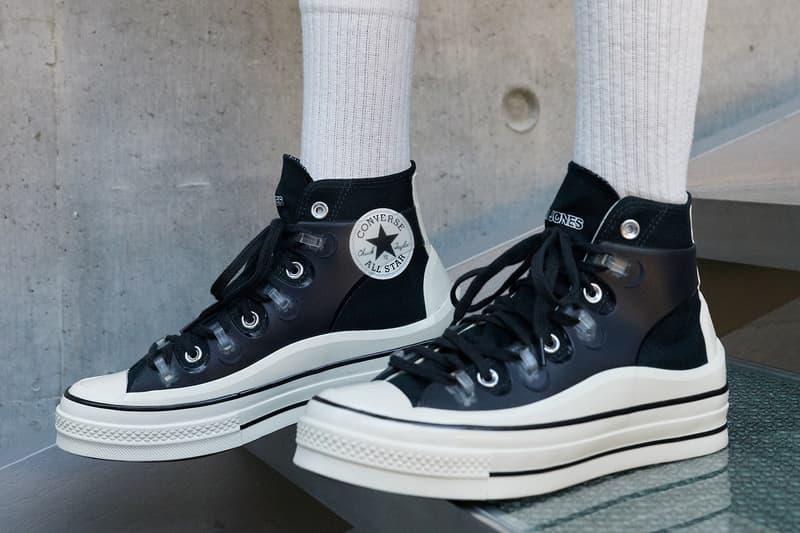 converse kim jones chuck 70 sneakers collaboration black white
