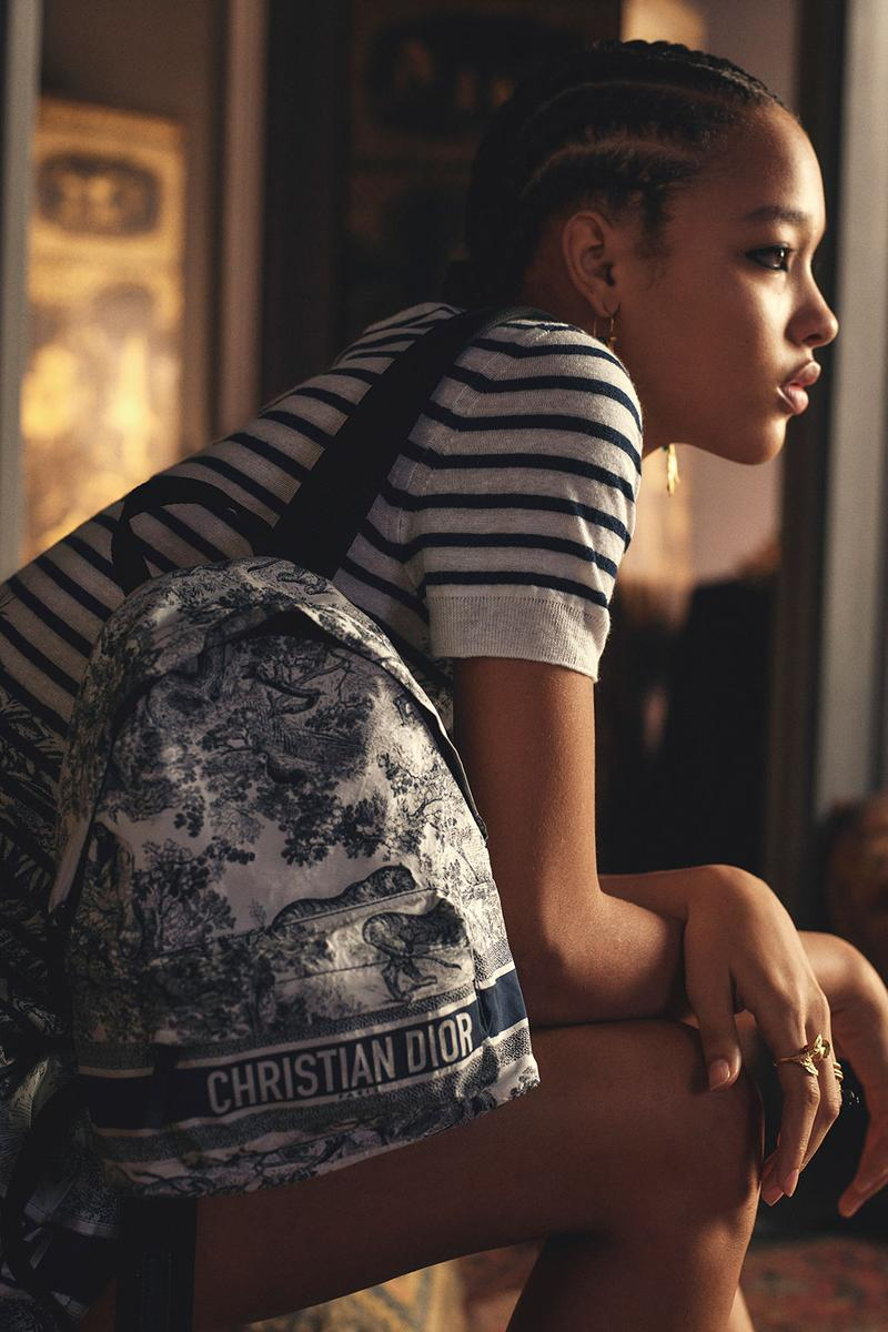 dior chez moi loungewear spring summer collection t shirt backpack