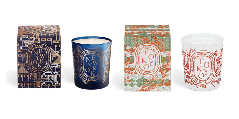 diptyque's Entire City Candles Collection is Now Available Worldwide
