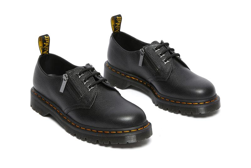 dr martens 1461 60th anniversary shoes collection zip black