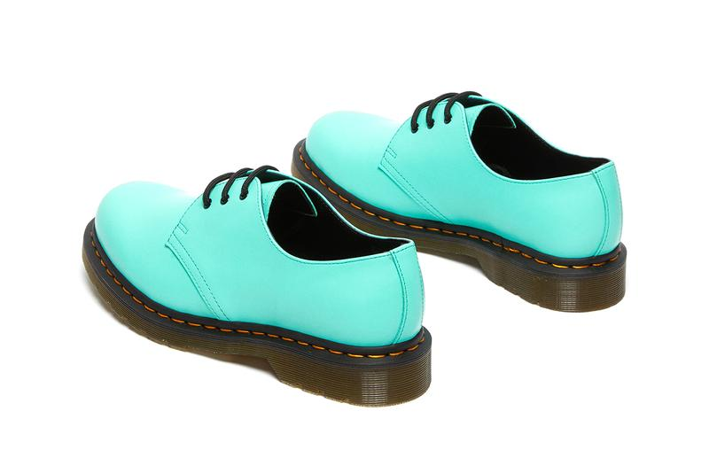 dr martens 1461 60th anniversary shoes collection peppermint green