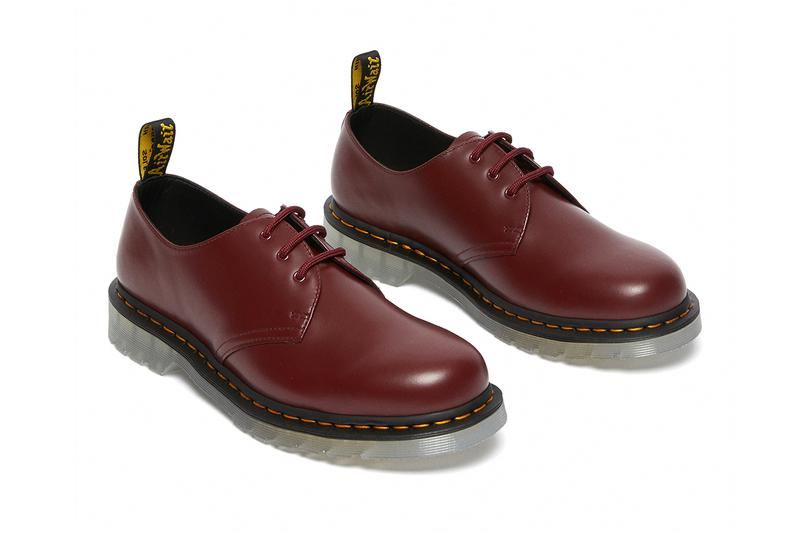 dr martens 1461 60th anniversary shoes collection iced cherry red