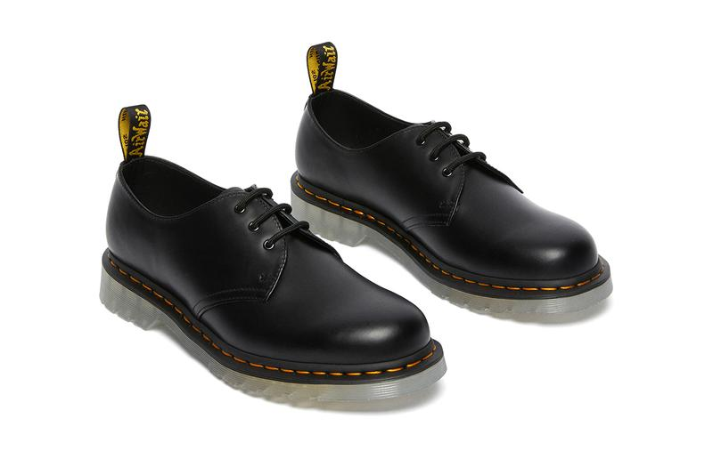 dr martens 1461 60th anniversary shoes collection iced black smooth