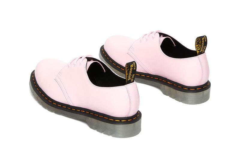 dr martens 1461 60th anniversary shoes collection iced pale pink pastel