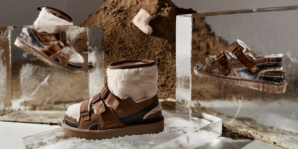 Feng Chen Wang's UGG Boots Transform Into Sandals