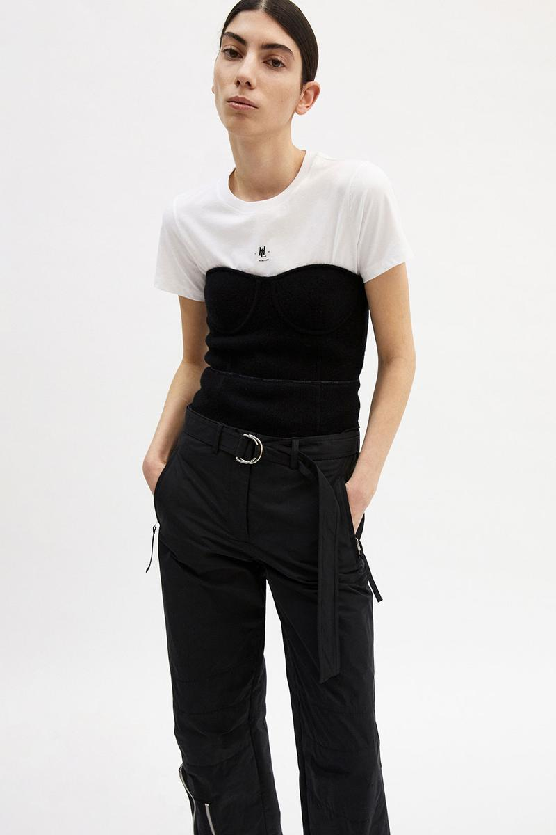 helmut lang fall winter 2021 fw21 collection lookbook tee top pants trousers