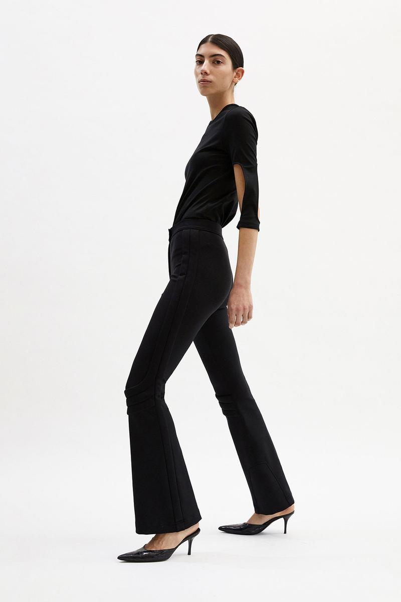 helmut lang fall winter 2021 fw21 collection lookbook black tee pants trousers