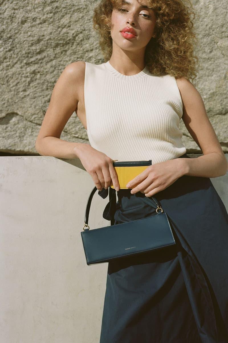 mansur gavriel pencil case handbag shoulder black accessory