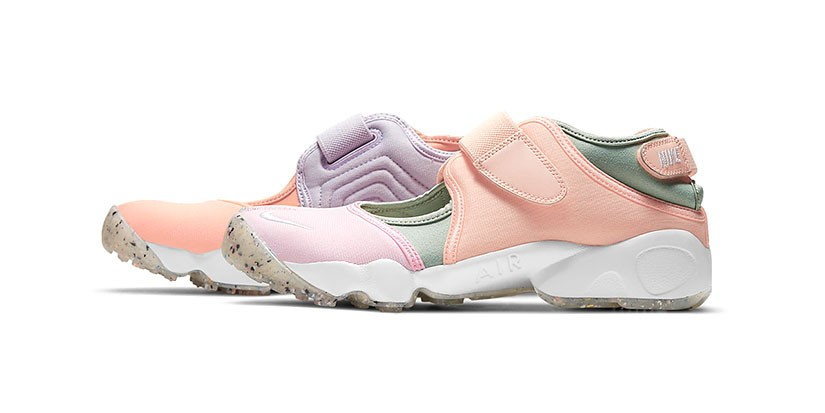 Nike's Air Rift Returns in Summer-Ready Hues of Pastel Pink and Purple