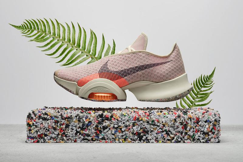 nike move to zero summer 2021 eco-friendly sustainable sneakers airzoom superrep 2