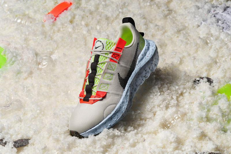 nike move to zero summer 2021 eco-friendly sustainable sneakers crater impact