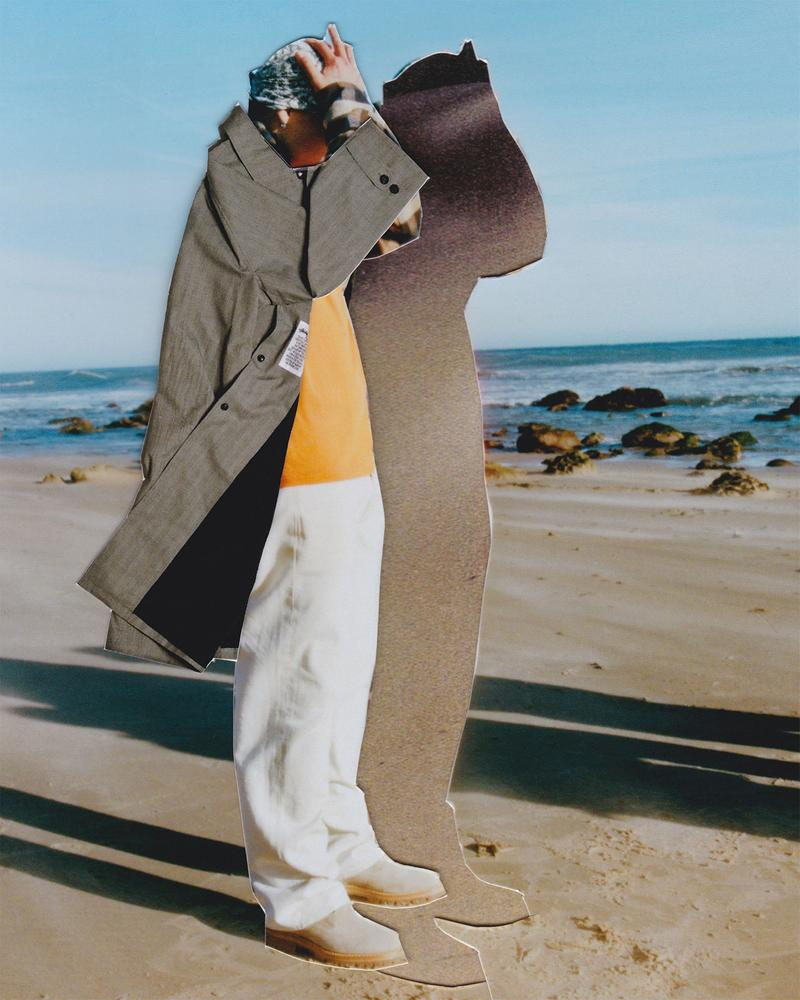 our legacy stussy ss21 spring summer 2021 collaboration collection coat trousers