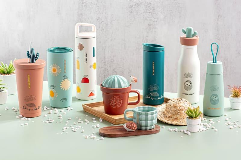 starbucks hedgehog collection merch cups mugs tumblers hong kong hk