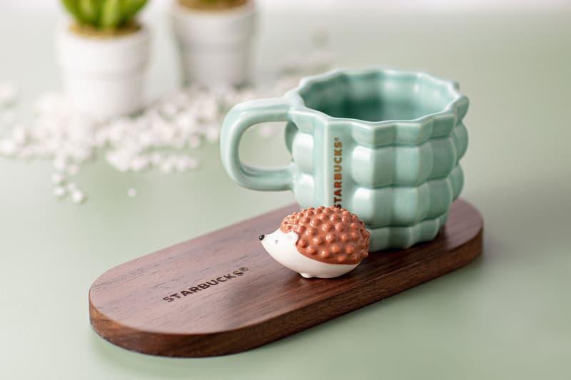 starbucks hedgehog coffee collection merch hong kong hk cup mug
