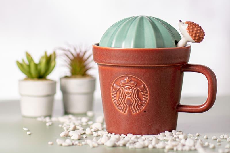 starbucks hedgehog coffee collection merch hong kong hk cup mug cover lid