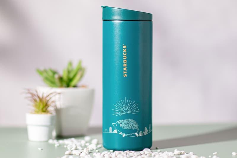 starbucks hedgehog coffee collection merch hong kong hk tumbler