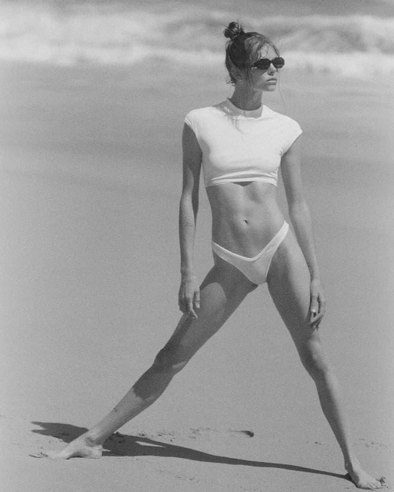 The Attico Summer 2021 Beachwear Capsule Collection Lookbook State Of Nature Swimwear Purienne Bikinis White Top