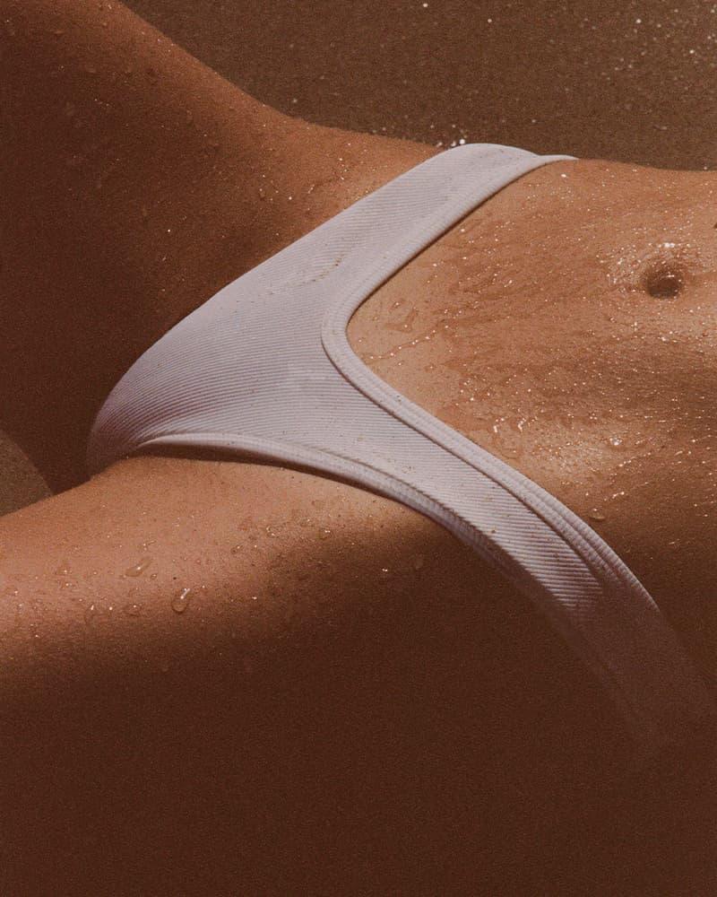 The Attico Summer 2021 Beachwear Capsule Collection Lookbook State Of Nature Swimwear Purienne Bikini Bottom