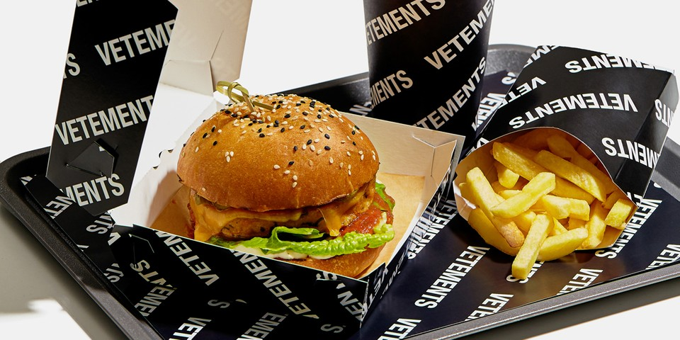 Vetements Makes Food Now, Too — Introducing the Vetements Burger Combo Meal