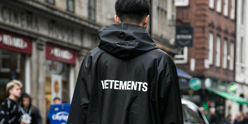 """In a Classically Meta Move, Vetements Files Trademark for """"VTMNTS"""" Brand Name"""