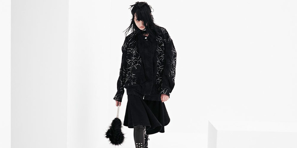 """We11Done Explores Dresses, Denim, Knitwear and More in FW21 """"Oddities"""" Collection"""