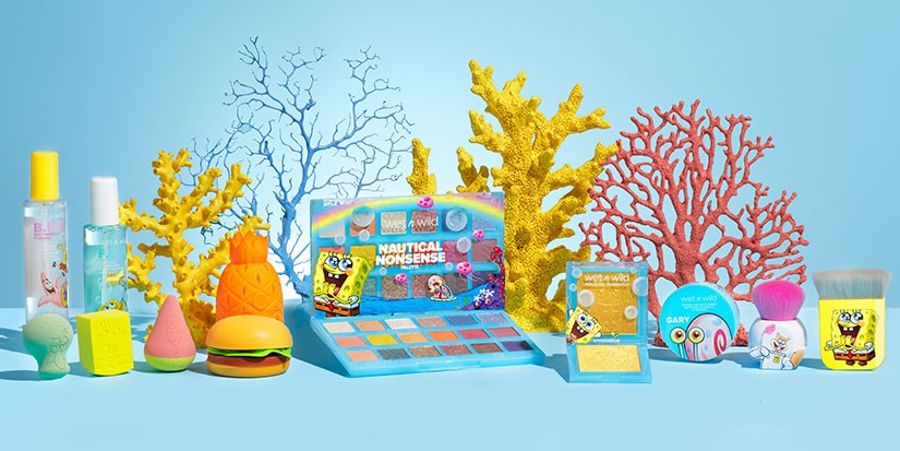 'SpongeBob SquarePants and Friends' Venture Into Makeup and Skincare With wet n wild